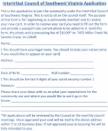 MEMBERSHIP APPLICATION. Click photo for a larger, printable copy.